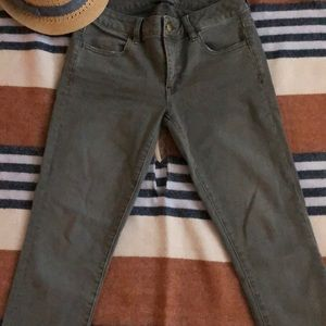 American Eagle Outfitters Green Denim